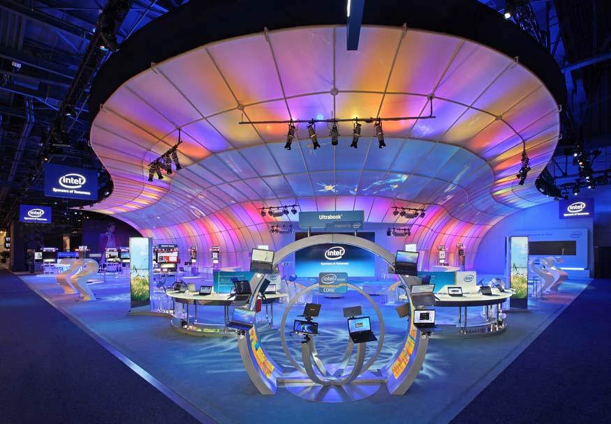 Exhibition Stand Design Awards : Intelligent life exhibitor magazine