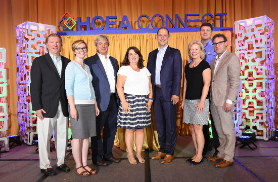 HCEA and EXHIBITOR representatives meet at HCEAConnect, last week in Chicago