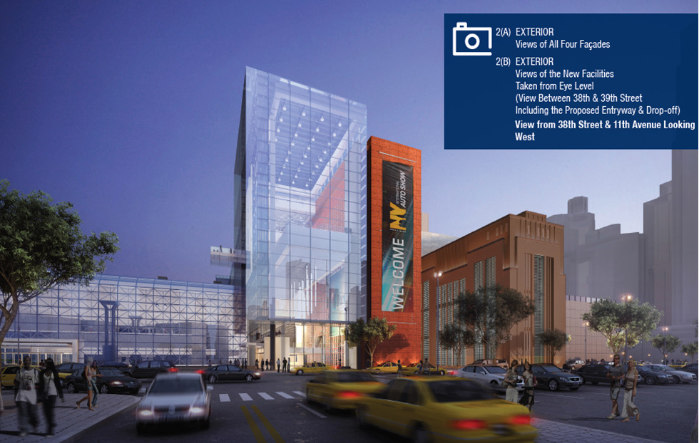 Jacob K. Javits Convention Center rendering